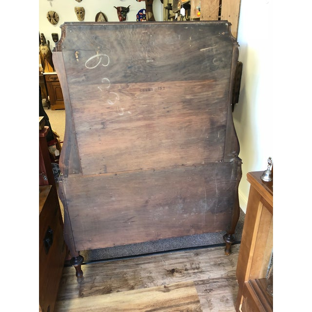 1930s Art Deco Chest With Drawers For Sale - Image 4 of 7