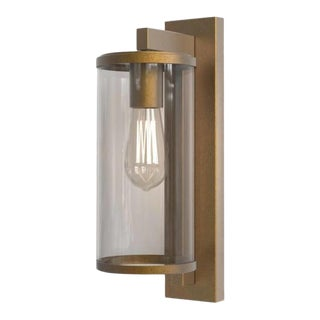 2032 Pimlico Antique Brass Wall Sconces For Sale