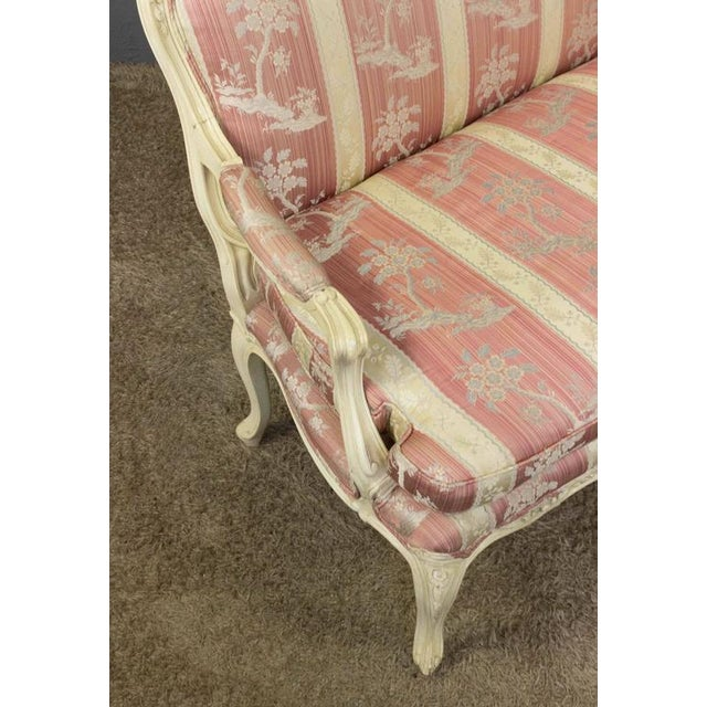 Louis XV Style Settee With Painted Finish - Image 8 of 11
