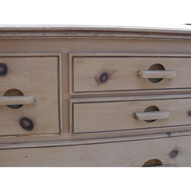 Danish Modern Danish Natural Pine Cabinet For Sale - Image 3 of 5