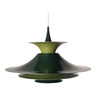 Danish Mid-Century Modern Radius 1 Pendant Lamp by Erik Balslev for Fog & Mørup For Sale