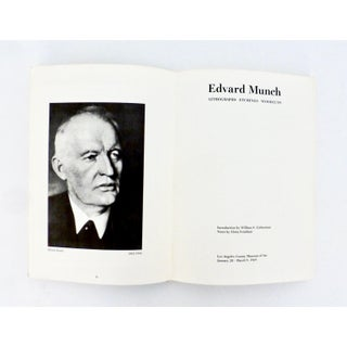 Edvard Munch, 1969 Illustrated Exhibition Book Preview