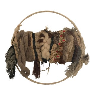 Boho Chic Wedding Dreamcatcher-Style Wall Hanging For Sale