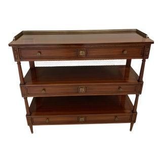 Taillardat 3-Tier Console Table For Sale