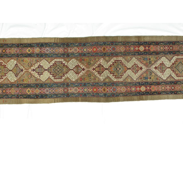 Leon Banilivi Antique Bakhshaish - 3′3″ × 14′2″ - Image 4 of 5