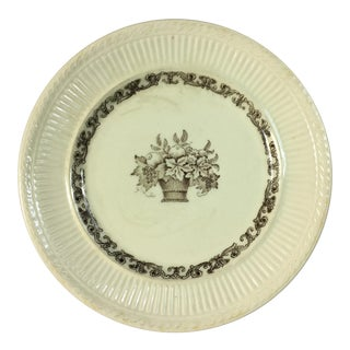Late 19th Century Vintage Rorstrand Old Swedish Wall Hanging Plate For Sale