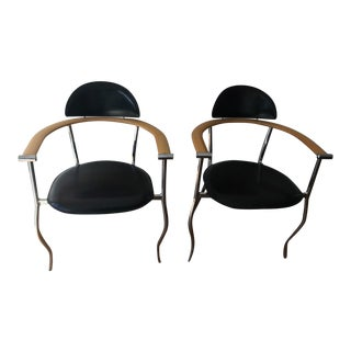 Arrben Vintage Dining Room Chairs - A Pair For Sale