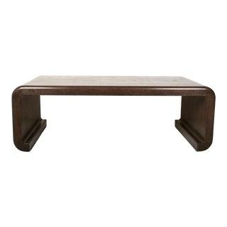 Vintage Custom Oak Coffee Table