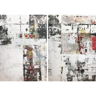 Ned Martin, First Light (Diptych), 2018 For Sale