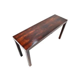 Mid-Century Danish Modern Rosewood Console Table