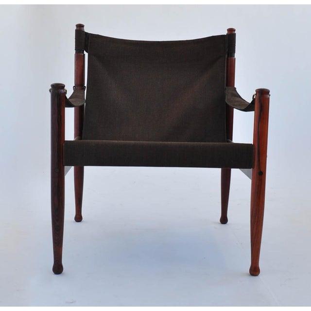 Erik Worts Rosewood Safari Sling Chair - Pair - Image 4 of 10