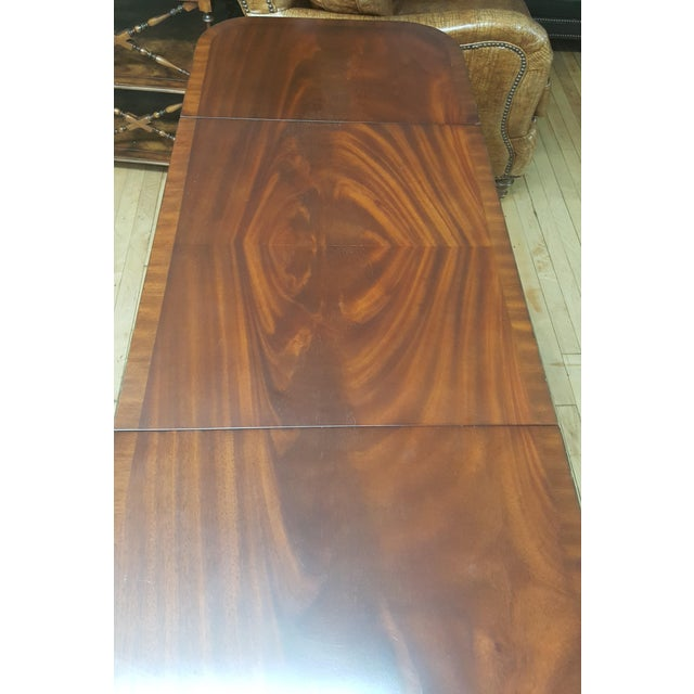 Maitland - Smith Maitland Smith Mahogany Pembroke Table For Sale - Image 4 of 12