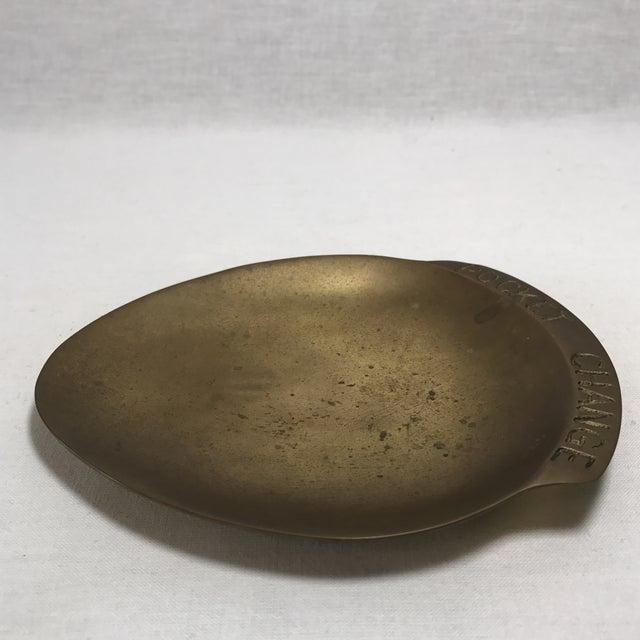 Vintage Brass Pocket Change Dish - Image 8 of 9
