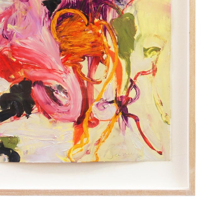 Abstract Summer Garden by Elke Behrens, 1994 For Sale - Image 3 of 13