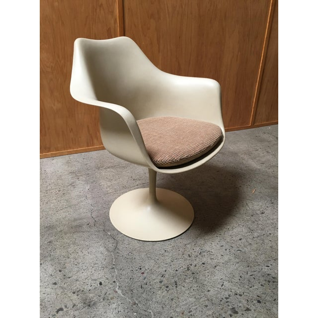 Vintage Mid Century Eero Saarinen for Knoll Dining Chairs- Set of 6 For Sale - Image 9 of 12