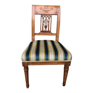 Antique Federal Period Slipper Chair For Sale