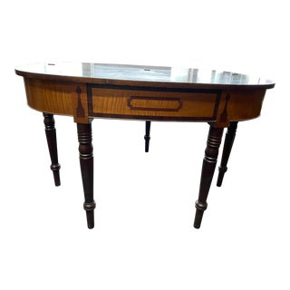 Antique Gate Leg Card Game Table For Sale