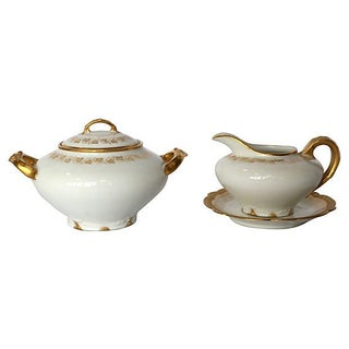 Haviland Limoges Sugar & Creamer For Sale