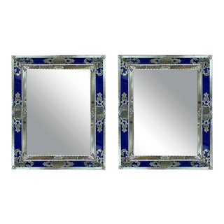 Venetian Mirrors, Italy, 1930s - a Pair For Sale
