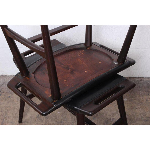 Pair of Ap-30 Piano Stools by Hans Wegner For Sale - Image 11 of 13