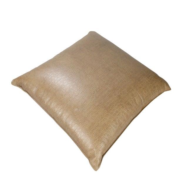 Original Armani Casa Leather Pillow For Sale