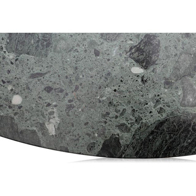 Black Osvaldo Borsani Marble Coffee Table For Sale - Image 8 of 9