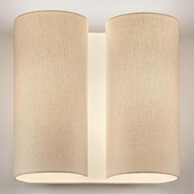 Mid-Century Modern Natural Sconce Wall Light For Sale - Image 3 of 4
