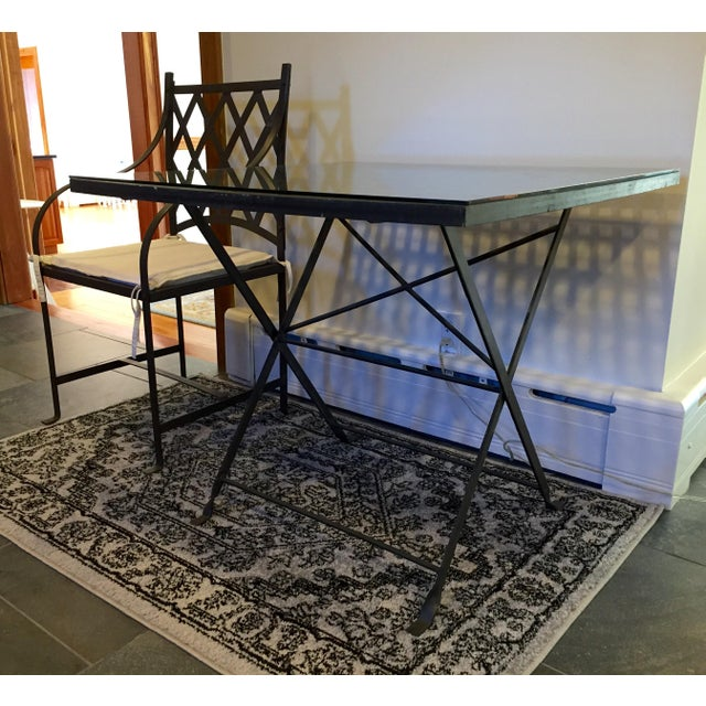 Antique Wrought Iron Table - Image 4 of 5
