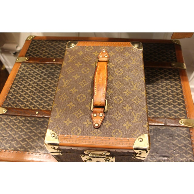 Animal Skin Louis Vuitton Train Case For Sale - Image 7 of 13