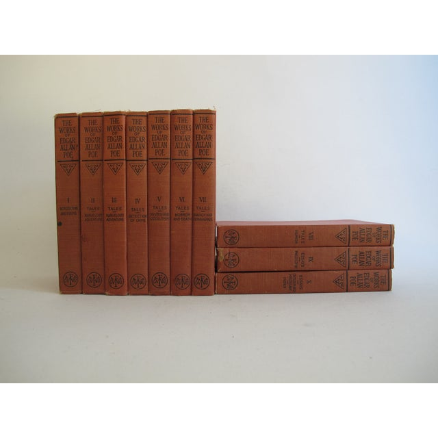 The Works of Edgar Allen Poe - Set of 10 - Image 5 of 8