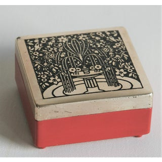 Art Nouveau Trinket Box Preview