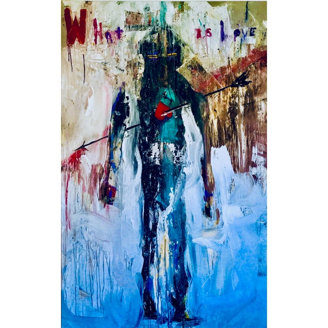 What Is Love Contemporary Abstract Painting