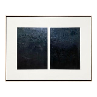"""Exclusive John O'Hara """"Midnight Window 2"""" Encaustic Painting For Sale"""