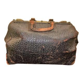 Antique Leather Doctor's Medical Bag For Sale