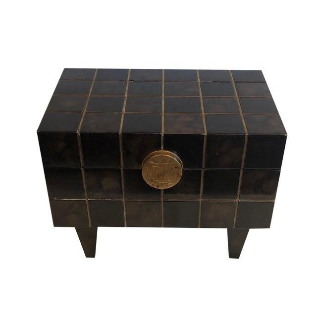 Mid-Century Modern 1970s Maitland Smith Mid Century Box For Sale - Image 3 of 10