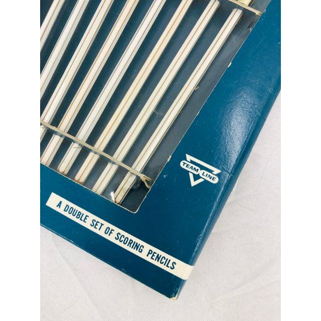 Vintage Set Game Scoring Pencils - Set of 8 For Sale - Image 4 of 6