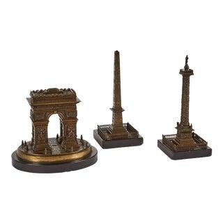 Bronze Sculptures - Set of 3 For Sale