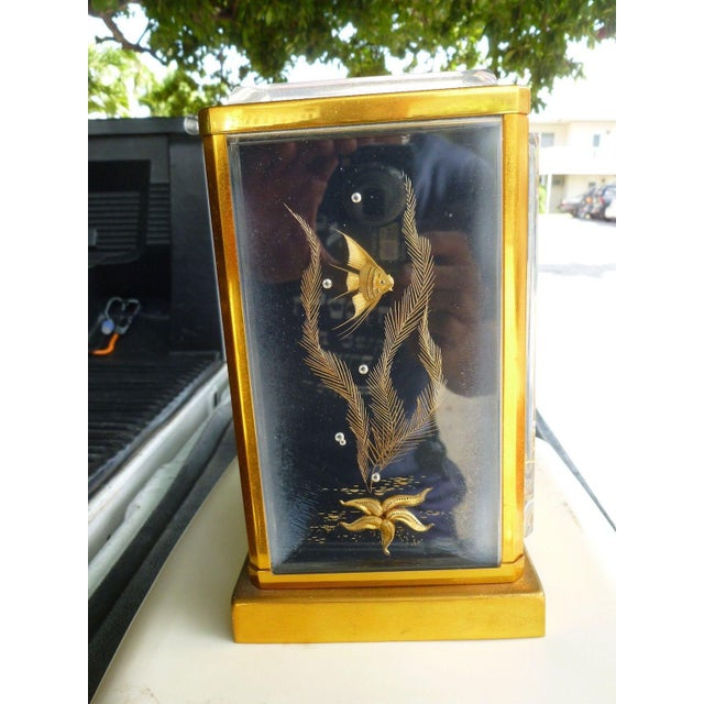 Mid-Century Modern Marina Jaeger Le Coultre Clock For Sale In Miami - Image 6 of 7