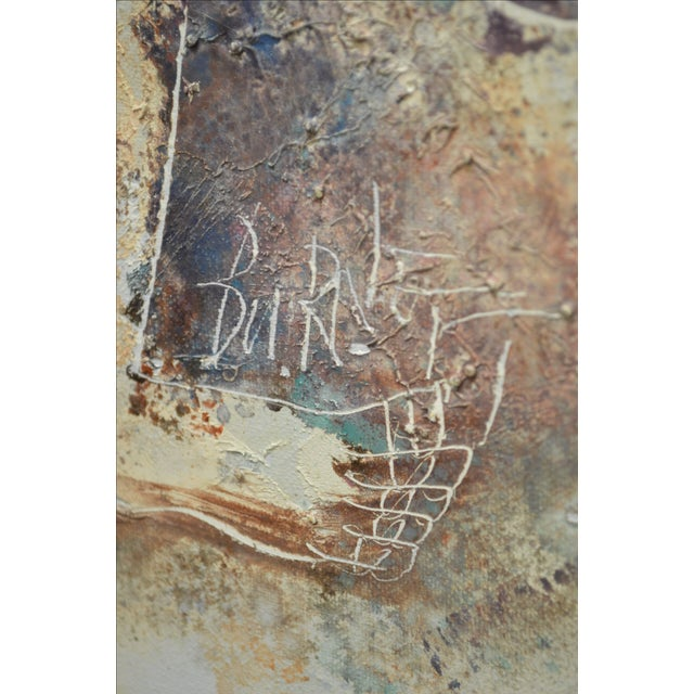 Original signed oil painting by Calvin Waller Burnett. Burnett lived from 1921 - 2007. His works have been exhibited...