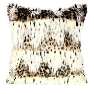 Leopard Fur Pillow Cover With Cheetah Spot For Sale