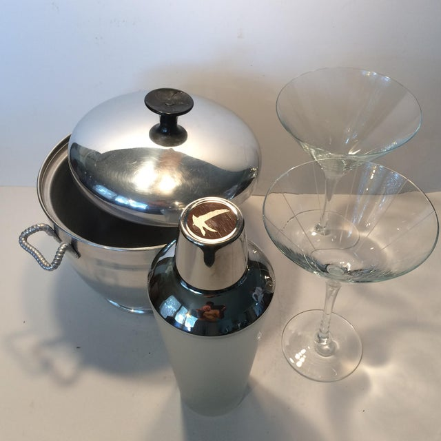 Mid-Century Modern Insulated Ice Bucket For Sale - Image 11 of 11