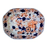 Image of Antique Mason's Ironstone Platter For Sale