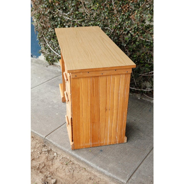 Rancho Monterey Desk For Sale In Los Angeles - Image 6 of 7