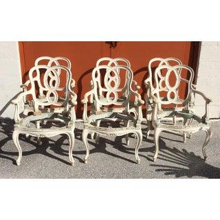 Vintage Hollywood Regency Chair Frames - Set of 6 Preview