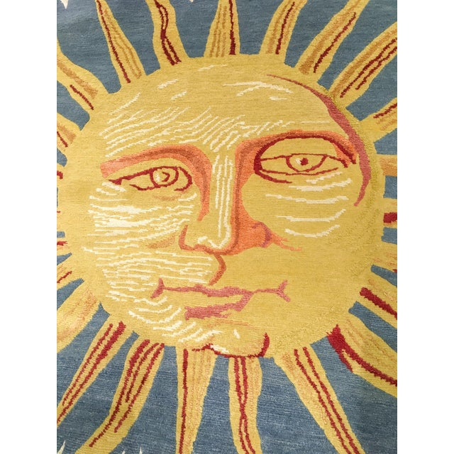 Solana, the Sun Rug, 3' X 3' For Sale In Phoenix - Image 6 of 8