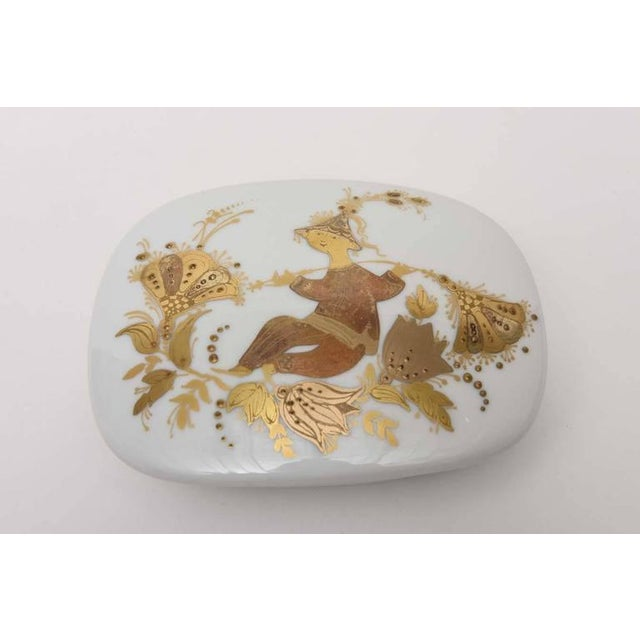 Lidded Box and Canister by Bjorn Wiinblad for Rosenthal For Sale In Miami - Image 6 of 10