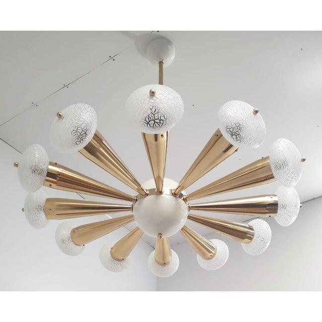Fabio Ltd Sfinge Chandelier by Fabio Ltd For Sale - Image 4 of 8