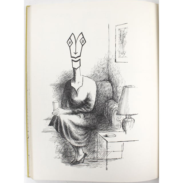 Paper Saul Steinberg: The New World, First Edition For Sale - Image 7 of 11