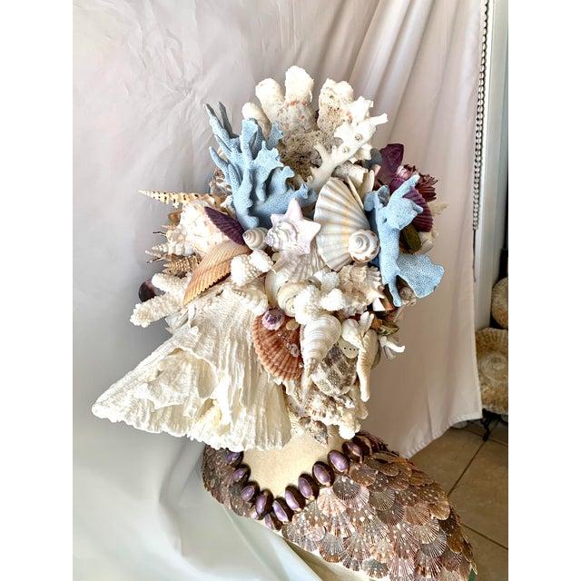 2020s La Sirena Seashell Bust For Sale - Image 5 of 11