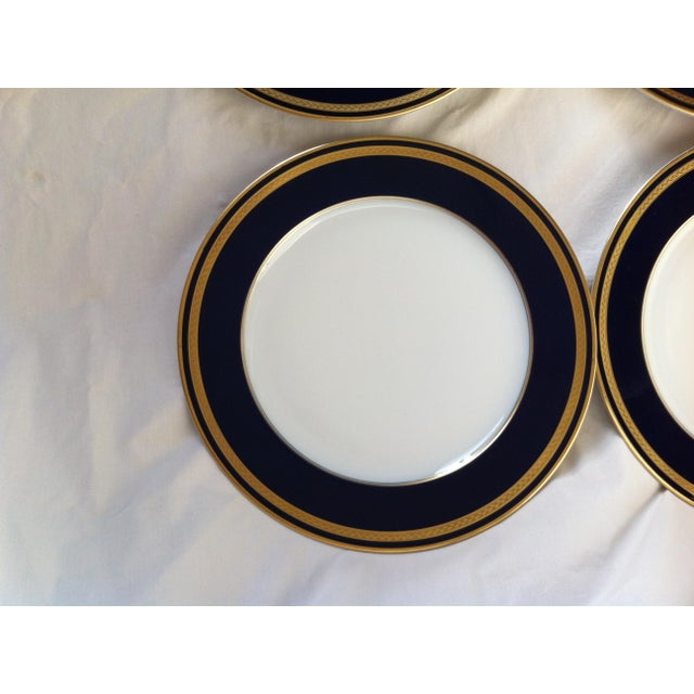 "Hutschenreuther ""Monarch"" China Plates - Set of 4 For Sale - Image 9 of 10"